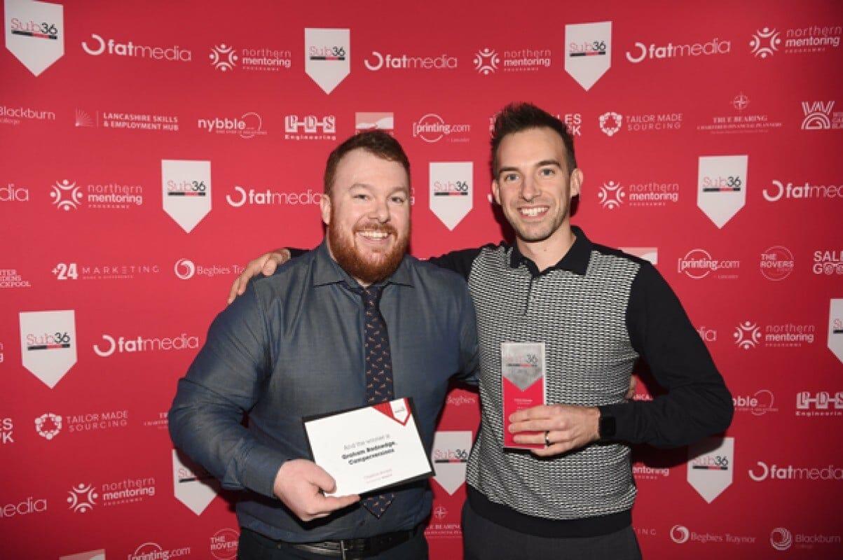 Nybble Sponsors Creative Award At LBV Sub 36 Awards