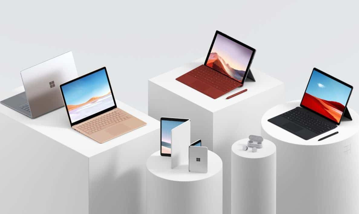 Meet the surface family