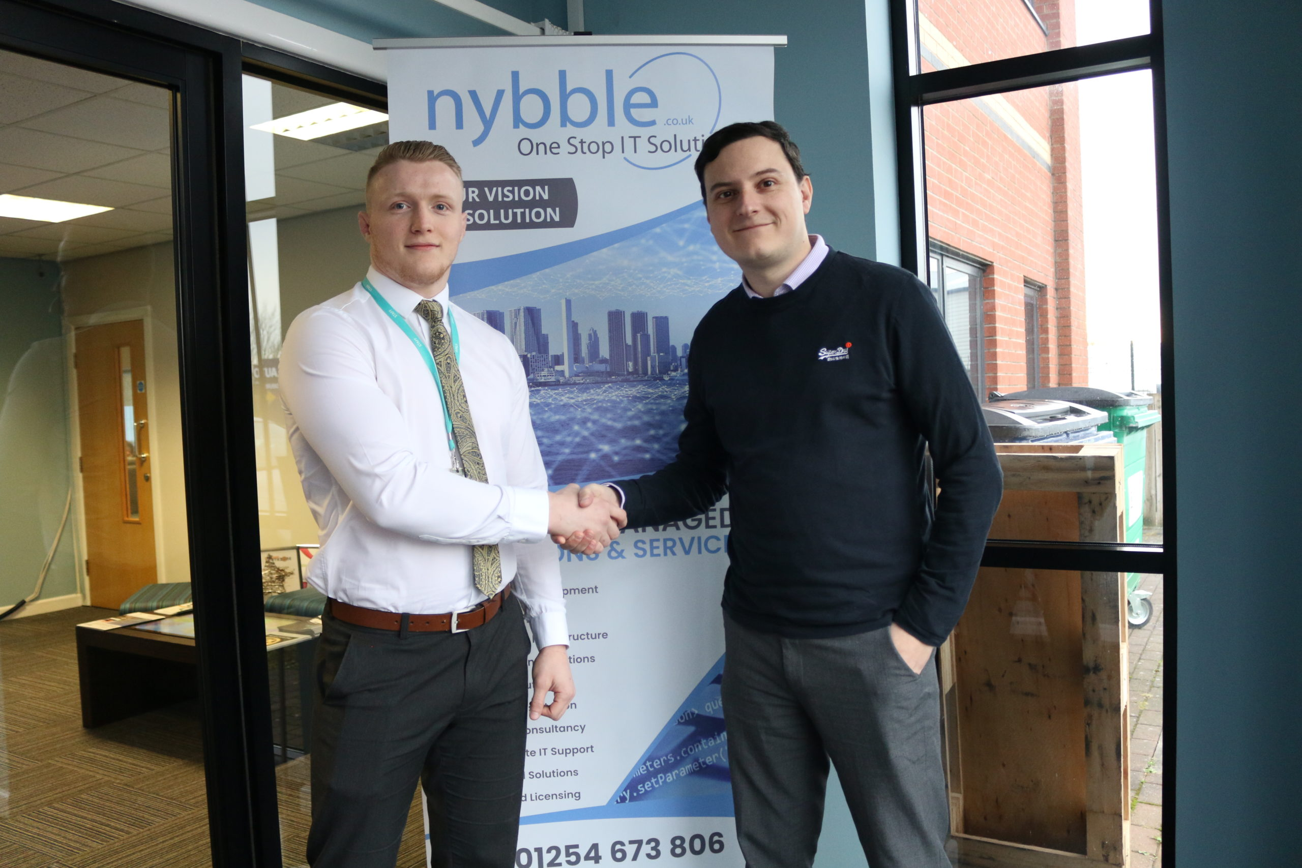 Nybble Proudly Announces a Collaboration with the Nelson and Colne College Group!
