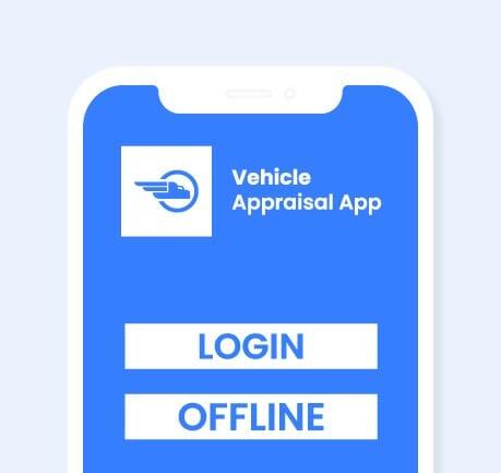 Nybble - Vehicle Appraisal App - Secure Login
