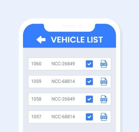 Nybble - Vehicle Appraisal App - Vehicle List