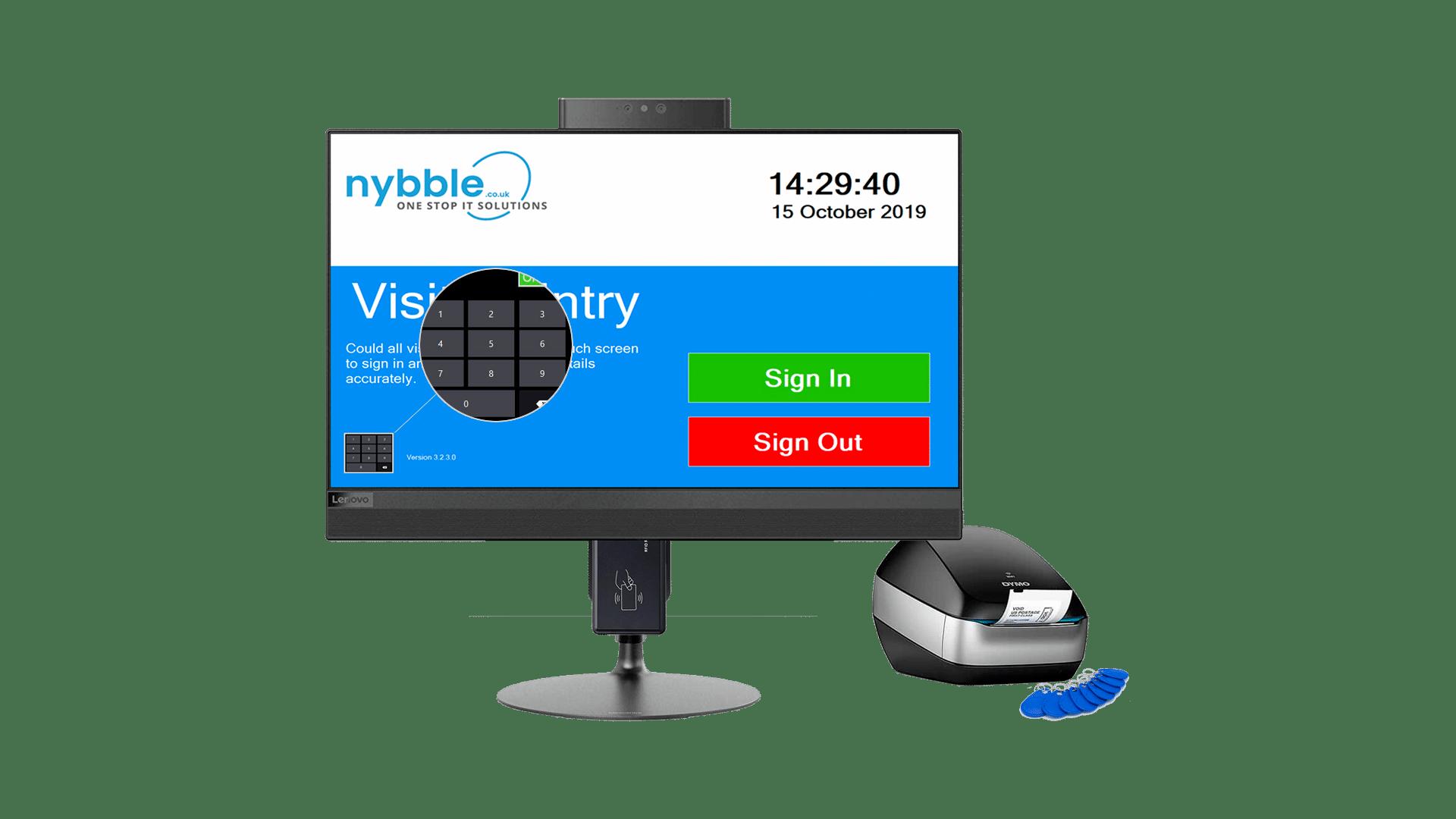 Nybble - Bespoke Visitor Entry Management System