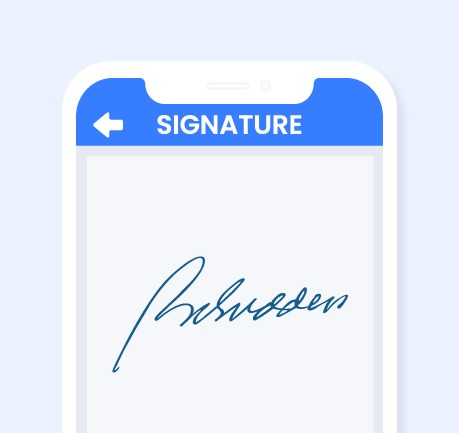 Nybble - Vehicle Appraisal App - Signature Sign Off