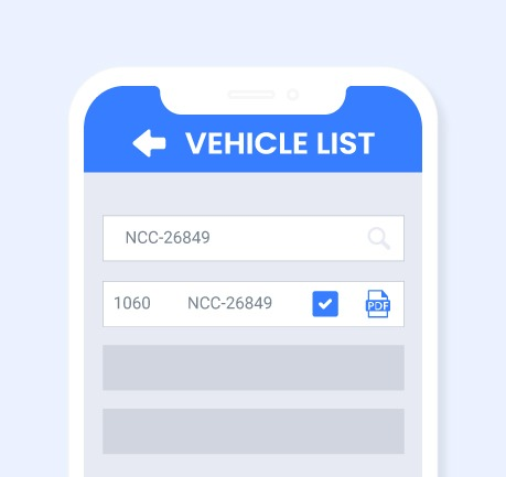 Nybble - Vehicle Appraisal App - Vehicle List Search
