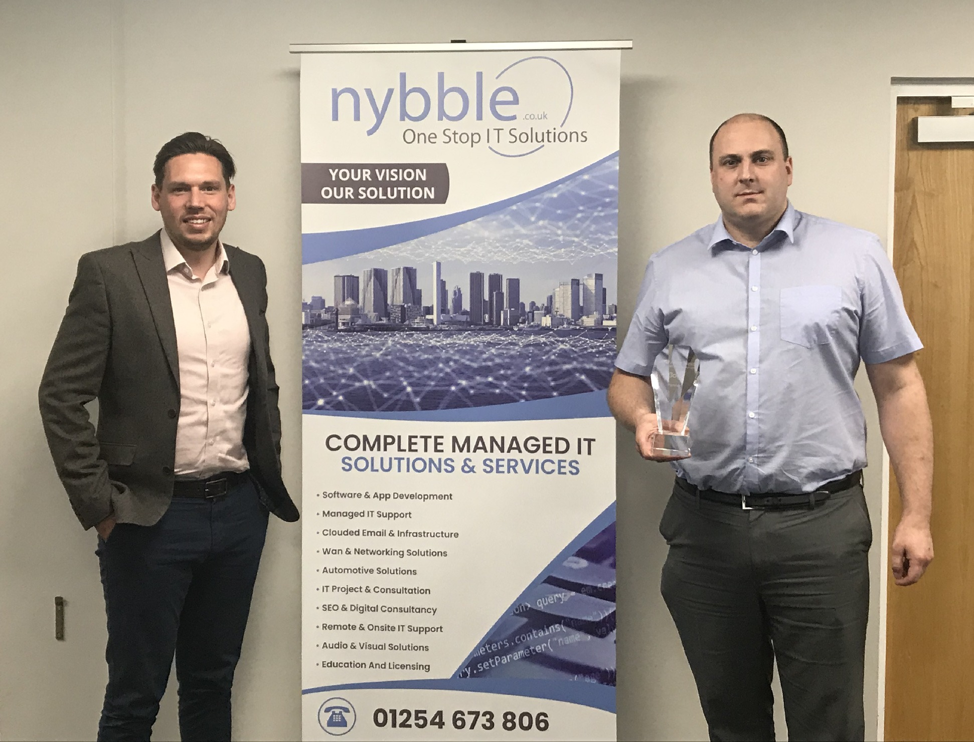 Nybble announce Gold Partnership with Allied Telesis