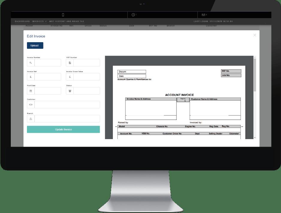 Invoic Portal Image