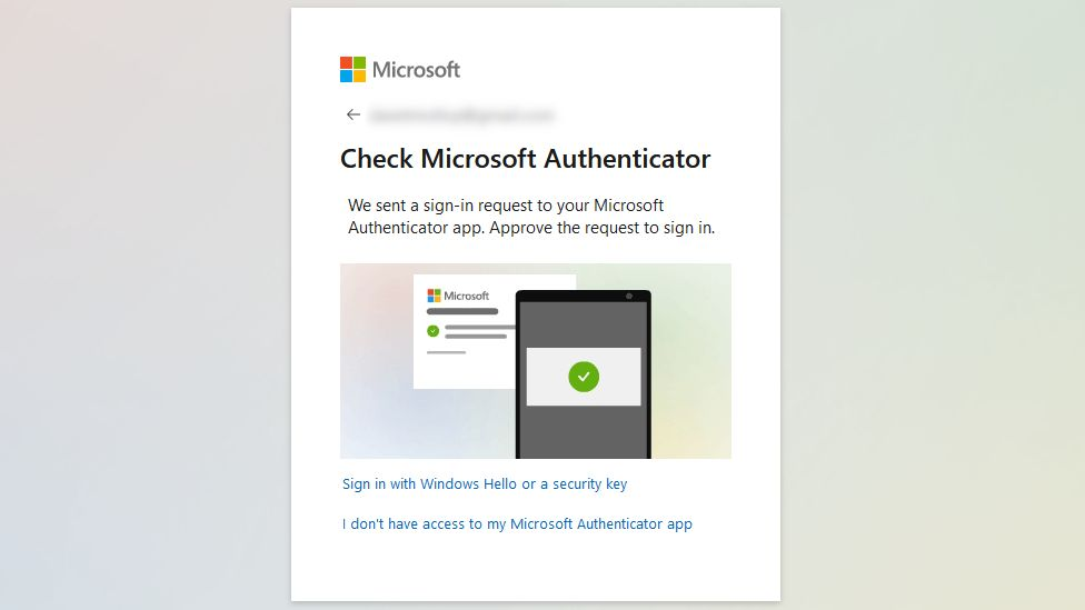 Microsoft Authenticator allows users to have passwordless accounts